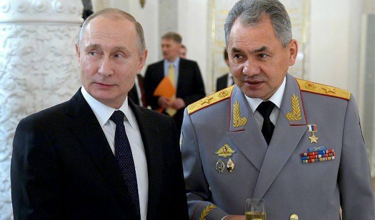 СБУ віклікала міністра оборони России Шойгу на допит Порядок подписал старший сл ...